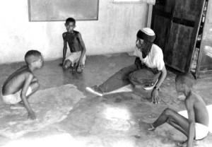 Natinho teaches a capoeira class