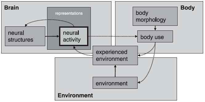 Westermann et al. 2007: 79, Fig. 3: 'Embodiment'