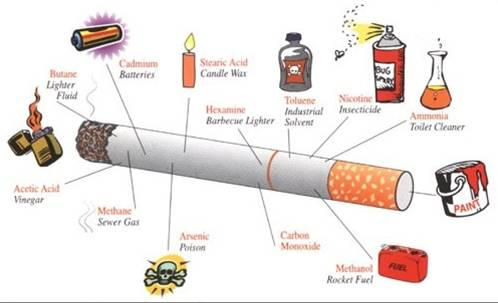 Cigarette Poisons