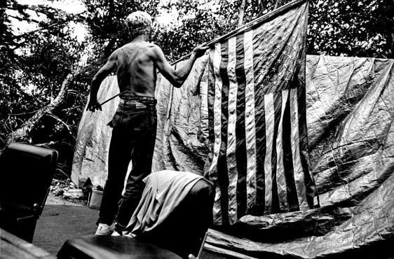 Flag by Jeff Schonberg