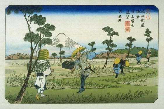 Kisokaido07_Konosu 69 Stations from Wikipedia