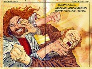 Jesus! vs Darwin!